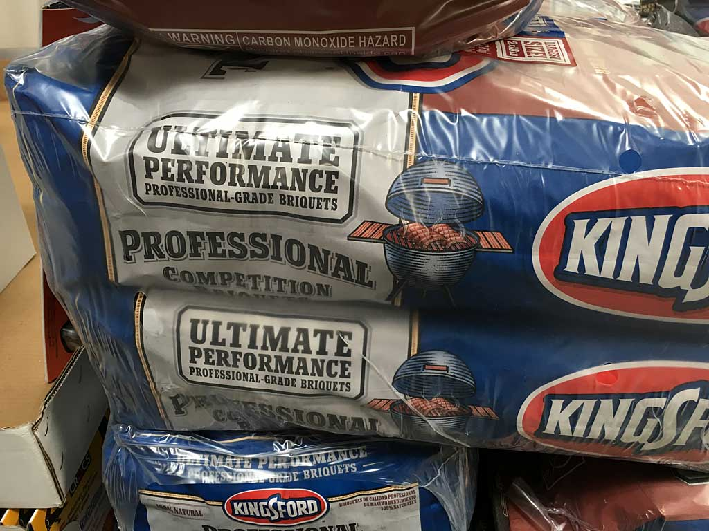 Kingsford Professional at Costco - Side of bag