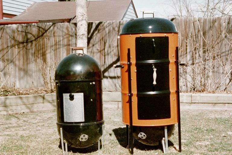 WSM and Magnum side-by-side