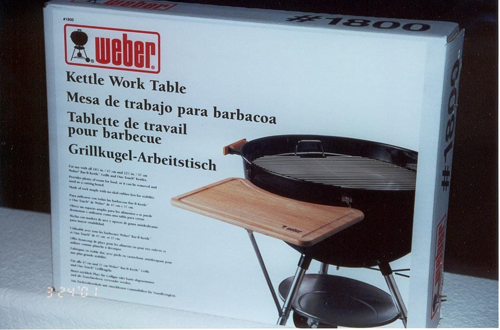 Weber Bbq Side Table.Work Tables The Virtual Weber Bullet