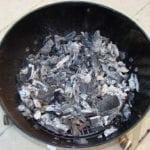 Fuel leftover after cooking