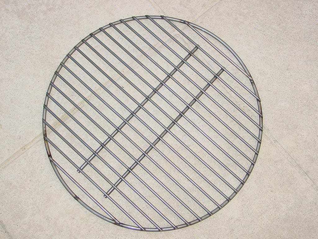 Modified charcoal grate