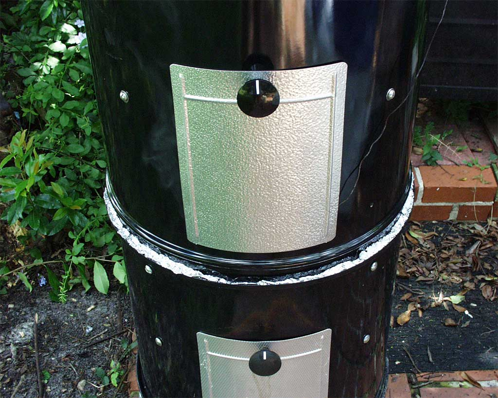 Close-up of stacked WSM foil gasket