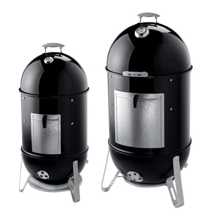 "The new 2009 18.5"" and 22.5"" Weber Smokey Mountain Cooker Smokers"