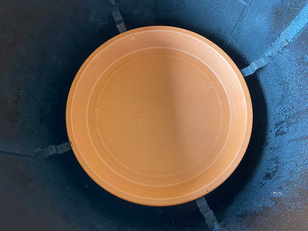 Terra cotta saucer in WSM