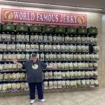 Buc-ee's wall of jerky