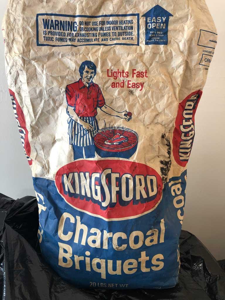 1984 Kingsford Original bag design