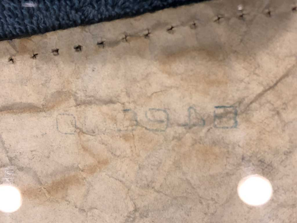 Production Code #2 on 1984 Kingsford charcoal bag