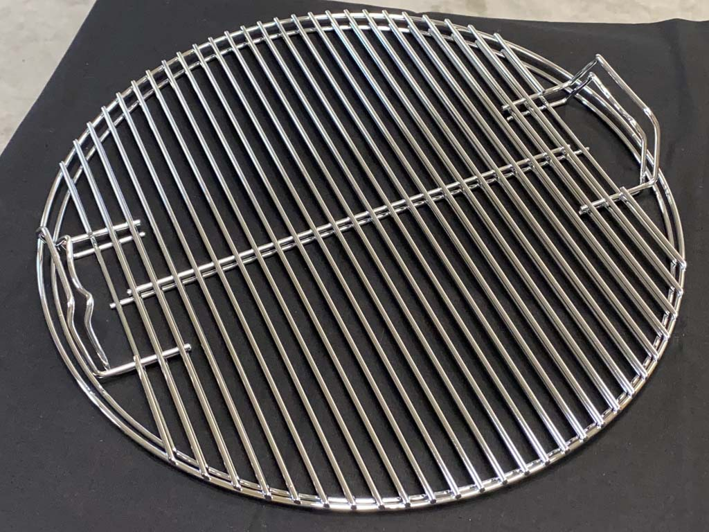 """Nested WSM 18.5"""" cooking grates with handles"""