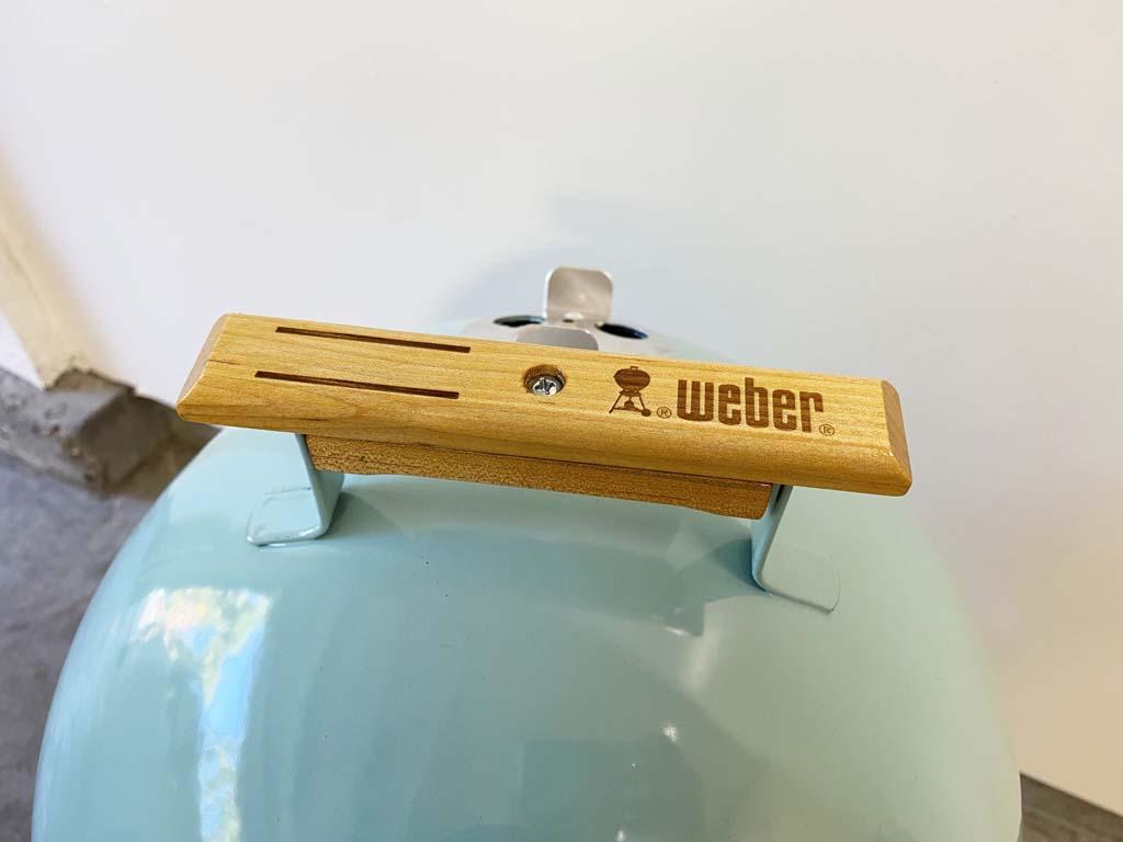 Original Weber wooden lid handle