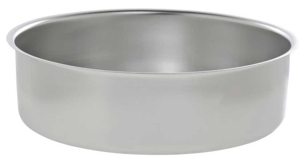 Hubert Chafer Stainless Steel Round Water Pan