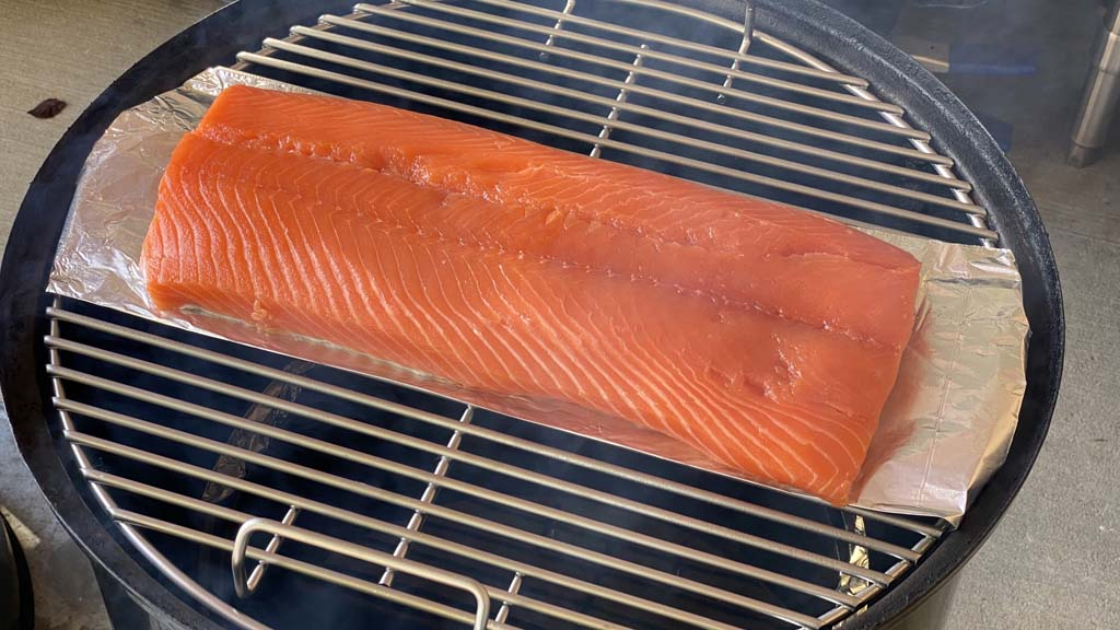 Salmon goes into the WSM